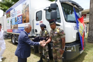 Un nouvel ensemble routier au camp militaire